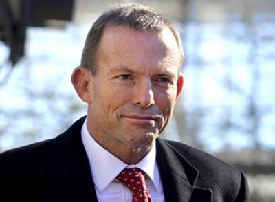 Prime Minister Tony Abbott, pictured in Cape York while he was Leader of the Opposition.