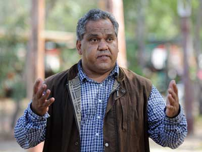 Noel Pearson... a Cape York Aboriginal identity popular with the Prime Minister.