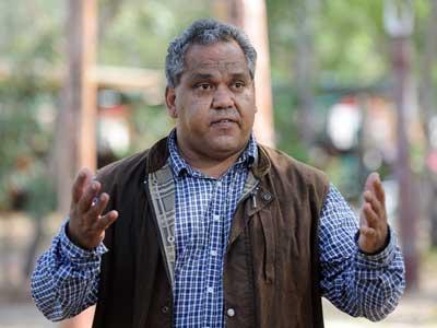Noel Pearson... a Cape York Aboriginal identity popular with the Prime Minister.
