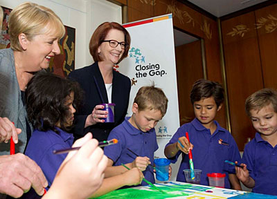 Prime Minister Julia Gillard and Minister for Indigenous Affairs, Jenny Macklin... the Close the Gap strategy is failing, but it's the politics behind it that's doing the real damage.