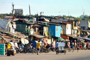 A street scene from Tondo, one of the sprawling slums of Manila in the Philippines. (IMAGE: Chris Graham)