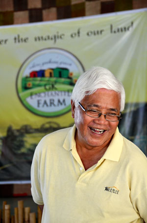 One of the founders of Gawad Kalinga, Tony Melotto. (IMAGE: CHRIS GRAHAM).