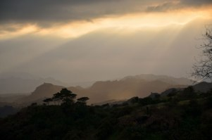 The mountains outside Angeles City. (IMAGE: CHRIS GRAHAM)