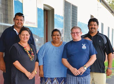 Board members of the Nulla Nulla Local Aboriginal Land Council, one of the targets of the Herald's beat-up.